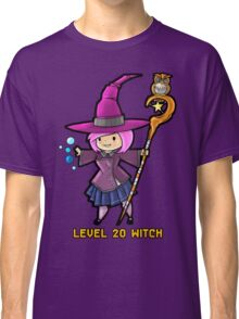 Level 20 Witch Classic T-Shirt