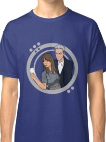 The Doctor and Clara - Selfie Classic T-Shirt