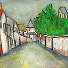 Street Scene (After Utrillo) by RobynLee