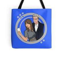 The Doctor and Clara - Selfie Tote Bag