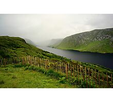 Lough Beagh at Glenveagh Castle Photographic Print