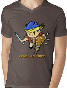 Level 20 Thief Mens V-Neck T-Shirt