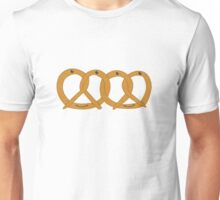 Pretzel Friends Linked Pretzels Unisex T-Shirt