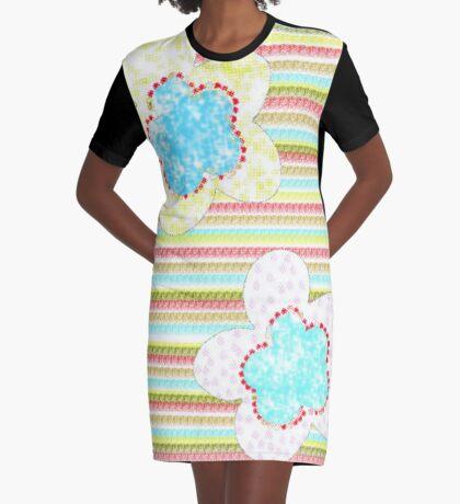 Flores Graphic T-Shirt Dress