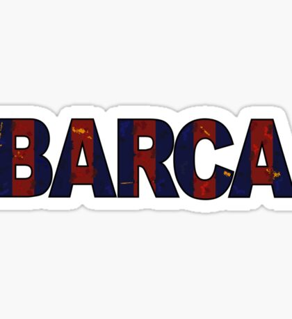 Barca Sticker