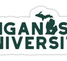 Michigan State University - Style 19 Sticker