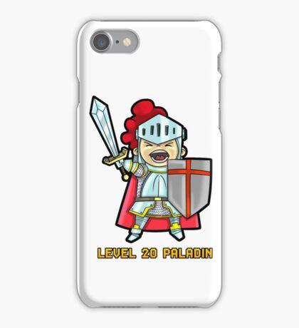 Level 20 Paladin iPhone Case/Skin