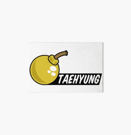 BTS/Bangtan Boys Taehyung/V + Bomb Art Board