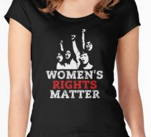 Women's Rights Matter! March on Washington Women's Fitted Scoop T-Shirt