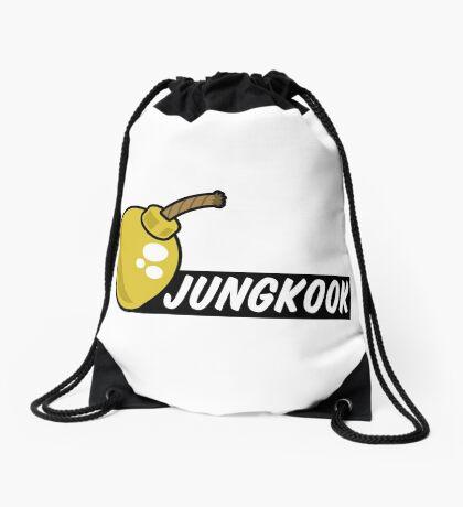 BTS/Bangtan Boys Jungkook + Bomb Drawstring Bag