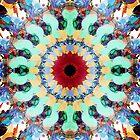 Mixed Media Mandala 2 by Phil Perkins
