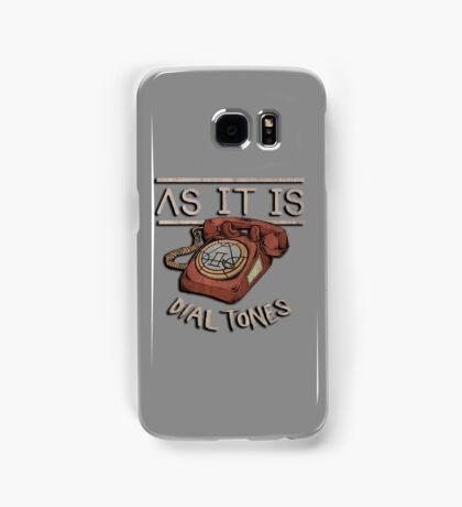 As it is Dial Tones Samsung Galaxy Case/Skin