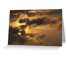 Sometimes One Is Lost for Words Greeting Card