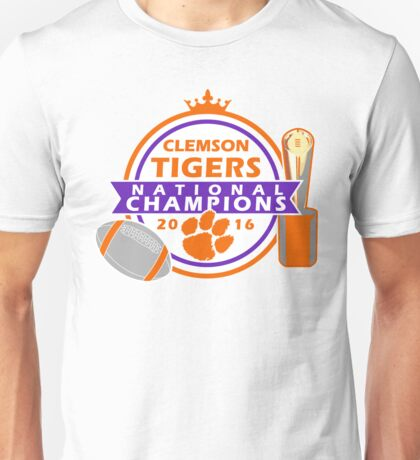 Clemson Tigers National Champions Unisex T-Shirt