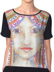 Equal Rights are Human Rights Chiffon Top