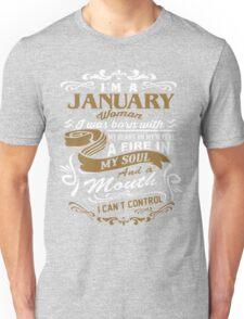 I'm a January woman shirt Unisex T-Shirt