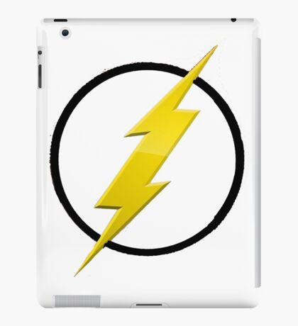 Flash Logo T-Shirt iPad Case/Skin