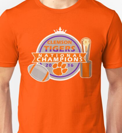 Clemson Tigers College Football National Champions Unisex T-Shirt