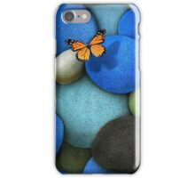 Stones and butterfly iPhone Case/Skin