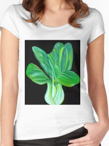 Bok Choy Women's Fitted Scoop T-Shirt