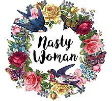 Flower Nasty Woman B Photographic Print
