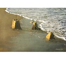 Ruins ~ Time & Tide Wait for No Man Photographic Print