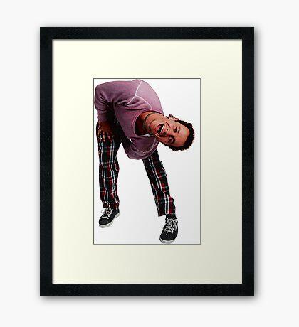 It's the Weeeaazel Framed Print