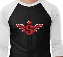Spread Power Up Icon Men's Baseball ¾ T-Shirt