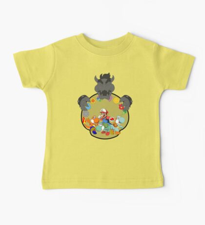 SUPER POKEMON BROS Baby Tee