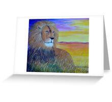 Pride of Africa Greeting Card