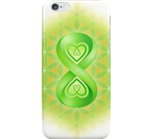 Infinite Holographic Flowering Of Life iPhone Case/Skin