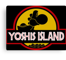 YOSHIS ISLAND Canvas Print
