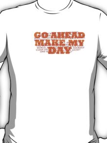 Dirty Harry Sudden Impact - Go Ahead Make My Day T-Shirt