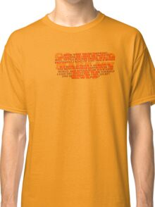 Dirty Harry Sudden Impact - Go Ahead Make My Day Classic T-Shirt