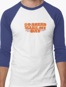 Dirty Harry Sudden Impact - Go Ahead Make My Day Men's Baseball ¾ T-Shirt