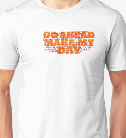 Dirty Harry Sudden Impact - Go Ahead Make My Day Unisex T-Shirt