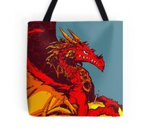 Ancient Red Dragon Tote Bag