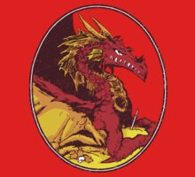 Ancient Red Dragon One Piece - Short Sleeve