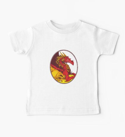 Ancient Red Dragon Baby Tee
