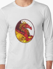 Ancient Red Dragon Long Sleeve T-Shirt