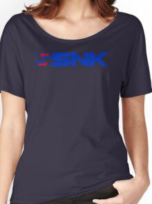 SNK (Distressed Logo) Women's Relaxed Fit T-Shirt