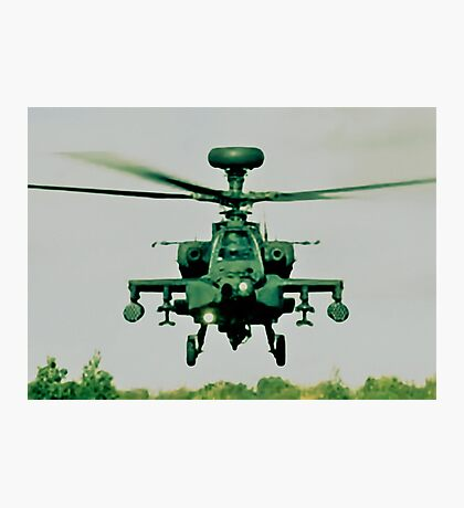 Army Green Apache Photographic Print