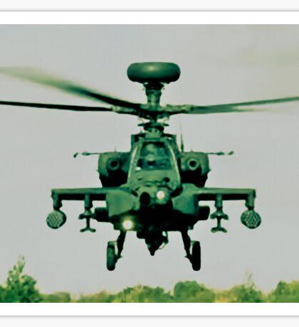 Army Green Apache Sticker