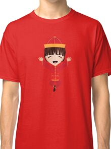 Happy chinese boy Classic T-Shirt
