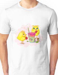 Chickens are preparing a magic elixir.  Unisex T-Shirt