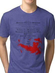 Gladiator - My name is Maximus Decimus Meridius... Tri-blend T-Shirt