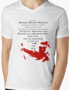 Gladiator - My name is Maximus Decimus Meridius... Mens V-Neck T-Shirt
