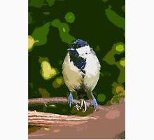 "Birds story, "" fawn paint Picasso ! ""  1 (c) (h) the Blue Tit - Olao-Olavia by Okaio Créations  Unisex T-Shirt"