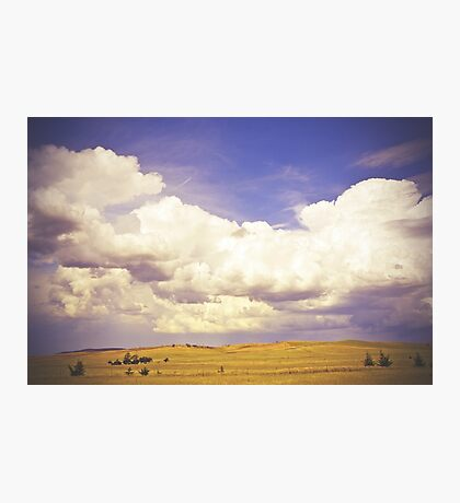 Countryside Cloudscape Photographic Print