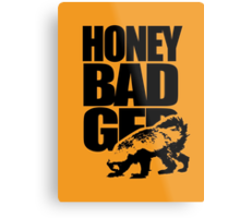 Honey Badger Metal Print